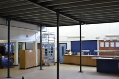 New 6th form rooms under construction.