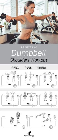 Exercise Cards Dumbbell Home Gym Strength Training Building Muscle Total Body Fitness Guide Workout Routines Bodybuilding Personal Trainer Large Waterproof Plastic Burn Fat Dumbbell Shoulders Workout Full Body Dumbbell Workout, Card Workout, Best Cardio Workout, Workout Guide, Gym Workouts, Workout Routines, Workout Fitness, Workout Men, Kettlebell Training