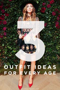 Whether you're in your 20s or 50s, here are amazing outfit ideas