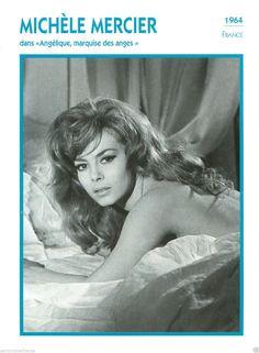 1 Michèle Mercier Actrice Actress Fiche Cinema France 90s   eBay