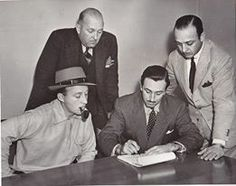 Walt (notice Bing Crosby)