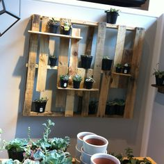 Pallet idea (from inside West Elm)