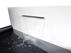 Bassins et lames d'eau en aluminium Decoration Design, Bathtub, Bathroom, Corten Steel, Plunge Pool, Standing Bath, Washroom, Bathtubs, Bath Tube