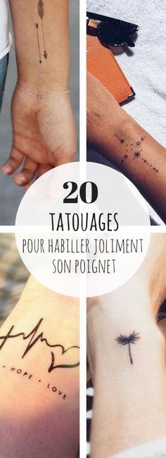 20 tatouages trop jolis pour le poignet !