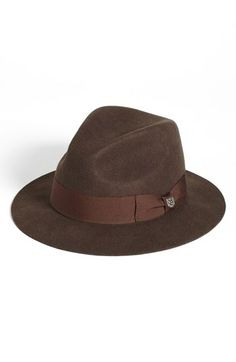 d3e76272a58 Brixton  Diego  Wool Fedora available at  Nordstrom Gentleman Store