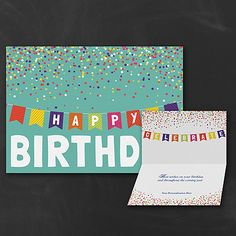 Banner Design Bulk Personalized Business Birthday Cards Custom Printed Partyblockinvitations