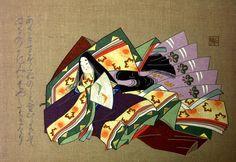 紫式部  Murasaki Shikibu, author of The Tale of Genji
