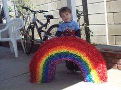 rainbow pinata