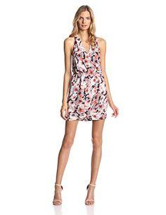 Parker Women's Winnie Tango Floral Print V-Neck Dress