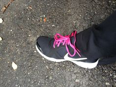 My new work out sneakers. Makes it do much more fun to exercise when I look down and see these!  Click pic to Save 40%