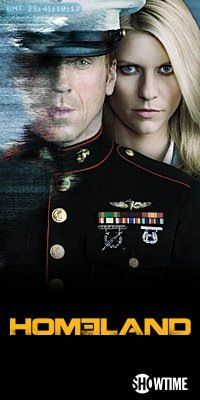 Homeland---an amazing show; the amazing Claire Danes.