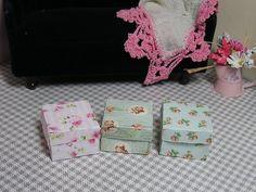 Miniature Dollhouse Furniture BOXES 1 inch scale    eBay