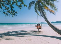 Phu Quoc Island Guide | Vietnam | Bai Sao Beach | Palm Tree Swing