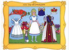 Alice thru the lookingglass