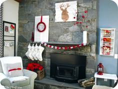25 Unique Christmas Mantels - Home Stories A to Z