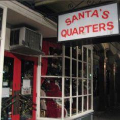 Santa's Quarters, New Orleans.