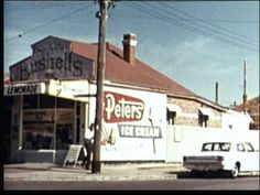 Aussie Milk Bar In The Early 1970's. {1970/71?} - YouTube Australian Icons, Australian Homes, Advertising Pictures, Melbourne Suburbs, Young Girl Fashion, Childhood Memories, 1970s Childhood, Australian Architecture, Newcastle Nsw