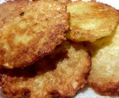 Rezept Reibeplätzchen / Reibekuchen / Kartoffelpuffer von Fett-For-Fun-Thermi - Rezept der Kategorie Beilagen