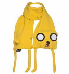 Yellow Adventure Time Jake Scarf : Main