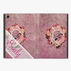 It's cool! This Monogram Vintage Elegant Pink Bird Floral Damask iPad Mini Cover is completely customizable and ready to be personalized or purchased as is. Click and check it out!