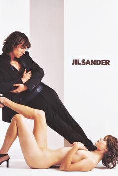 Malgosia Bela / Jil Sander Spring Summer 2001 by Richard Avedon