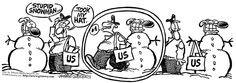 Mother Goose and Grimm By Mike Peters  /  6. snowman & mailman  - 6 -