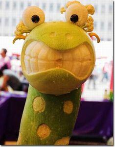 Food Humor  - Giraffe