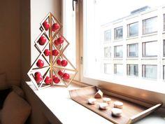Tree24 reusable advent calendar - Wooden http://www.beandliv.com/products/tree-24-wooden #beandliv #design #wooden