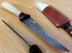 NEW CUSTOM HAND MADE DAMASCUS STEEL HUNTING  KNIFE SP-05