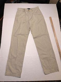 06ff1afdee7 Polo Ralph Lauren Boys Khaki Pants Size 20 Dress Pants EUC
