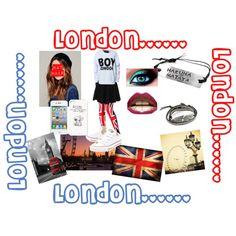 """London"" by sgrspcevnice on Polyvore"