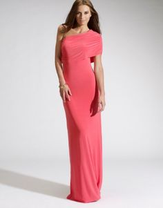 Honor gold gabriella maxi dress red