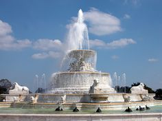 The Jewel of Belle Isle, the James Scott Memorial Fountain is Situated on the Western end of the Island. Belle Isle Detroit, MI