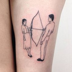 artwork for the body // tattoo // ink // art // design // skin // line // minimal // simple