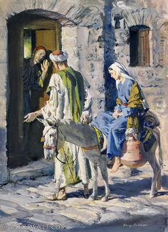 Luke 2: mary and joseph