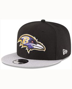 dce7da39dd24a2 New Era Baltimore Ravens Heather Vize MB 9FIFTY Cap Men - Sports Fan Shop  By Lids - Macy's. Nfl OfficialsFitted CapsBaltimore ...