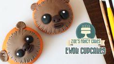 Ewok cupcakes Star Wars