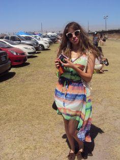 Summer colors at Coachella. #coachella2013