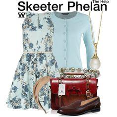 Inspired by Emma Stone as Skeeter Phelan in 2011's The Help.