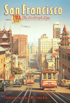 The Lindbergh Line, San Francisco, California