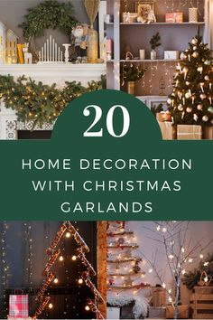 Christmas garlands are the most important things for Christmas holidays! We made a list of the most beautiful ways how to decorate your home with Christmas garlands. Visit Glaminati.com for more inspirational ideas! #christmas #christmasgarlands #christmasgarlandsdecor #christmashome #christmasdecor #christmasdecoration