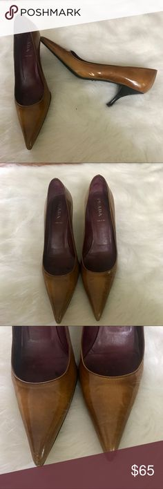 Selling this Prada kitten heels sz 40 (10) on Poshmark! My username is: posh_sloth. #shopmycloset #poshmark #fashion #shopping #style #forsale #Prada #Shoes