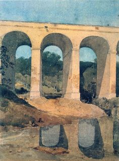 From Cotman to Monet, Bridges, Aqueducts, and Roman Aqueducts in Art, Paintings…