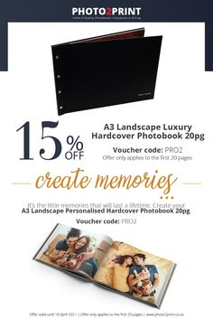 *Valid until 16 April 2021 Remember to add in the Voucher code PRO2– voucher code box (payment page) in checkout. #photobooks #Photobook_Specials #PhotoBooks #SouthAfrica #Johannesburg_SouthAfrica #Photo2Printza #family #Gauteng #Capetown #Durban #personalised #Coffeetablebooks #photoalbum #photocollection #perfectgift #keepsake #memories Voucher Code, Photo Book, Create Yourself, How To Apply, Coding, Memories, Box, Gifts, Memoirs