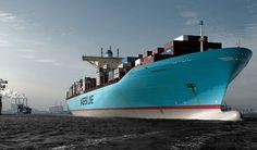 El barco Eugen Maersk.