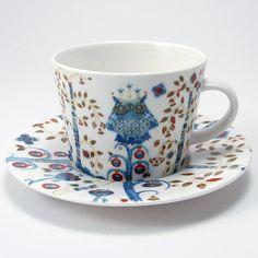 イッタラTaikaコーヒーカップ&ソーサー<ホワイト>