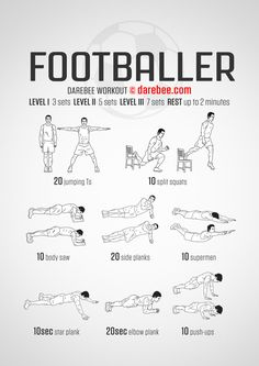 Footballer Workout
