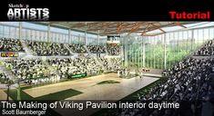 The Making of Viking Pavilion - interior daytime