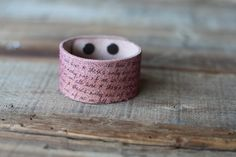 Two Ways to Amp Up a Leather Cuff