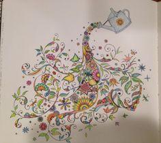 Johanna Bashford Purple And Mint Colouring With Derwent Inktense And Pantone Pencil Sabine